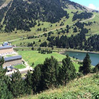 Пейзаж в Пиринеях, Ла Валь Даран.